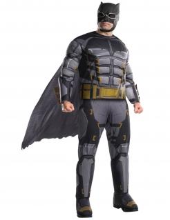 Batman™-Kostüm für Herren in Übergröße Tactical Batman™ grau-schwarz-gold