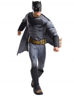 Klassische Batman™-Kostüm für Herren grau-schwarz-goldfarben