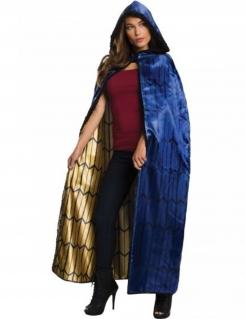 Wonder Woman™-Frauenumhang blau-schwarz-goldfarben