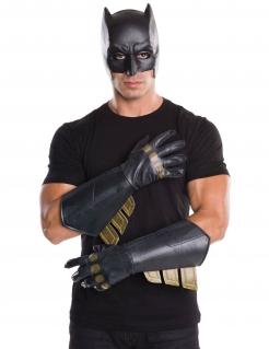 Batman™-Lizenzhandschuhe für Erwachsene schwarz-gold