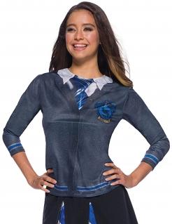 Harry Potter™ Ravenclaw T-Shirt für Erwachsene grau-blau-weiss