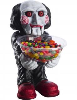 Billy Jigsaw™ Bonbonglas schwarz-weiss-rot 45 x 25 cm