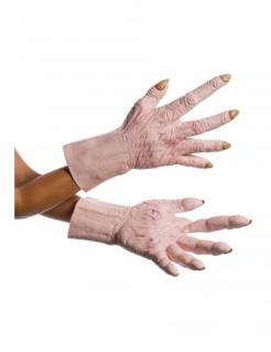 Latex-Handschuhe oberster Anführer Snoke™ Star Wars™ für Erwachsene hautfarben