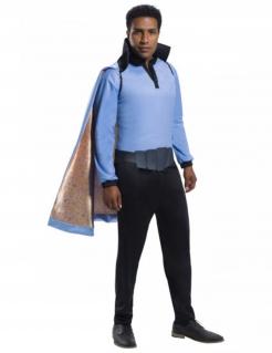 Lando Calrissian™-Kostüm für Herren Halloweenkostüm blau-schwarz-gold