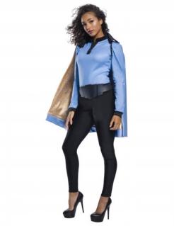 Lando Calrissian™-Kostüm für Damen Halloweenkostüm blau-schwarz-gold