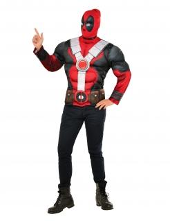 Deadpool™-Muskel-Kostüm lizenziert bunt