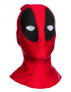 Deadpool™-Stoffhaube für Erwachsene rot-schwarz-weiss