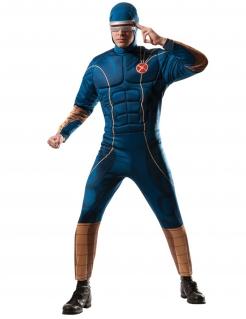 Cyclops™-Kostüm für Herren Lizenzkostüm X-Men™ blau-braun