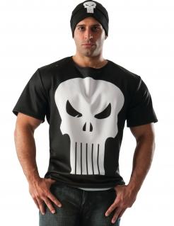 The Punisher™-Kostüm für Erwachsene schwarz-weiss
