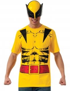 Wolverine™ Herren-Lizenzkostüm schwarz-gelb-rot