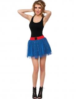 Spidergirl™-Tutu für Damen Accessoire blau-rot