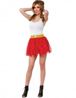 Iron Man™-Tüllrock für Damen rot-gelb