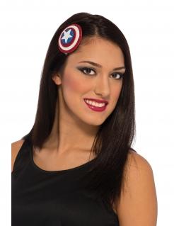 Captain America™-Haarspange weiss-rot-blau