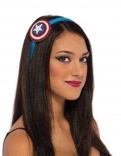 Captain America™-Haarreif für Damen blau-rot-weiss