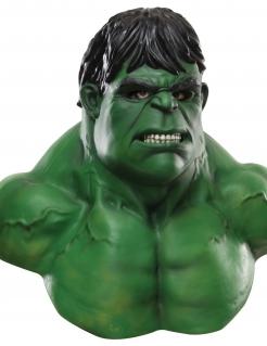 Deluxe Hulk™-Maske für Erwachsene grün-schwarz