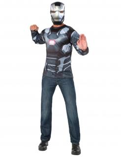 War Machine™-Lizenzkostüm für Herren grau-schwarz