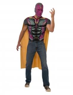 Vision™-Lizenzkostüm für Herren schwarz-violett- gelb