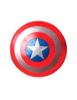 Captain America™-Schild für Erwachsene rot-silberfarben-blau