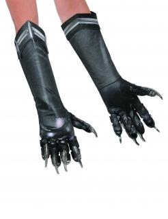 Black Panther™-Handschuhe schwarz-grau