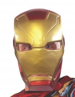 Iron Man™-Lizenzmaske für Erwachsene rot-goldfarben