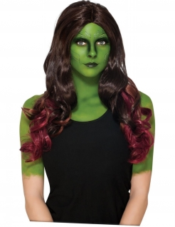 Gamora™-Perücke Guardians of the Galaxy 2™ braun-violett
