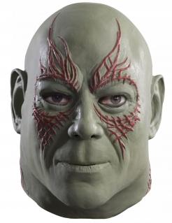 Drax der Zerstörer™-Herrenmaske grün-rot
