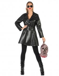 Vampir-Mörder-Kostüm für Frauen schwarz