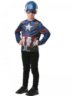 Captain America™-Kinderkostüm bunt