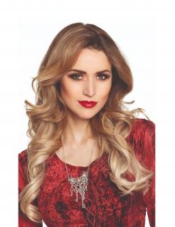 Steampunk-Halskette für Damen silberfarben