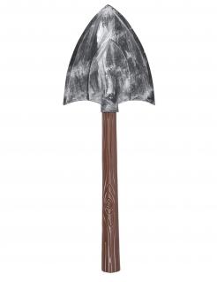 Totengräber-Schaufel grau-braun 67 cm