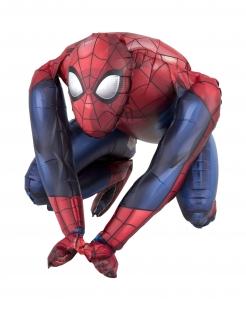 Kleiner Spider-Man™ Aluminiumballon bunt 38 x 38 cm