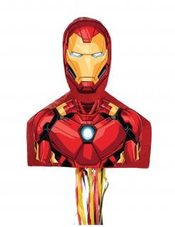 Iron Man™-Pinata rot-gelb-schwarz 50x24x17cm