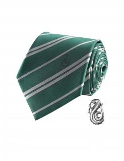 Slytherin-Krawatte Harry Potter™ grün-weiss 150x8cm