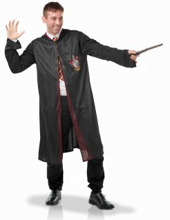 Harry Potter™ Gryffindor-Kostüm für Erwachsene schwarz-rot-gelb