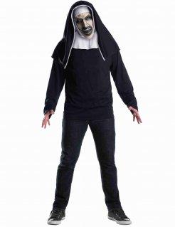 Die Nonne™Lizenzmaske für Erwachsene schwarz-weiss