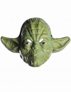 Yoda™-Maske für Erwachsene aus Kunststoff Star Wars™ grün