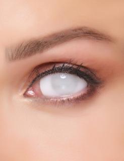 Geisterhafte Kontaktlinsen für Erwachsene weiß