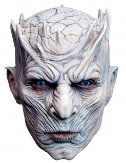 Game of Thrones™-Vollmaske des Nachtkönigs™ weiss-hautfarben-blau
