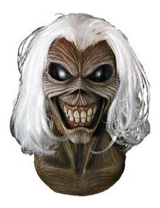 Eddie Horrormaske von Iron Maiden™ für Erwachsene braun-schwarz-weiss