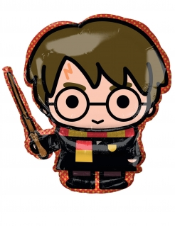 Harry Potter™ Lizenzierter Alu-Ballon bunt 68 x 63 cm