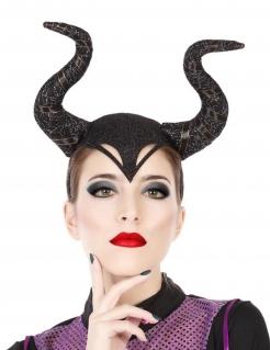 Haarband böse Hexe für Erwachsene schwarz