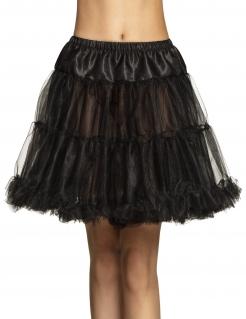 Petticoat für Erwachsene schwarz