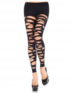 Knöchellange Strumpfhose für Damen schwarz