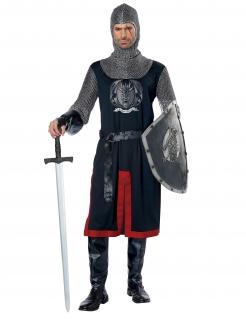 Ritter-Kostüm Mittelalter-Kostüm für Herren 6-teilig
