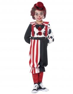 Clowns-Kostüm für Kinder, Horror-Clown, gruseliger Clown
