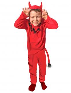 Teufel-Kinderkostüm rot