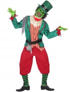 Zombie-Kobold Herren-Kostüm bunt