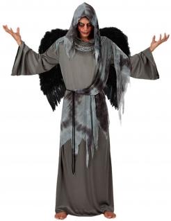 Todesengel-Kostüm für Herren grau