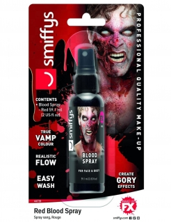 Blut-Spray Halloween Kunstblut rot 59 ml