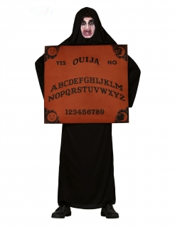 Ouija-Kostüm für Erwachsene schwarz-braun